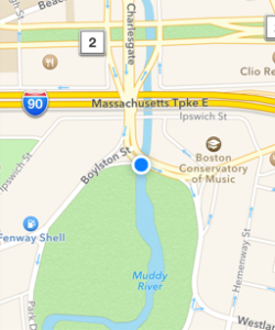 Rally Location from Apple Maps