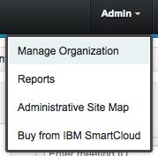 Manage Organization