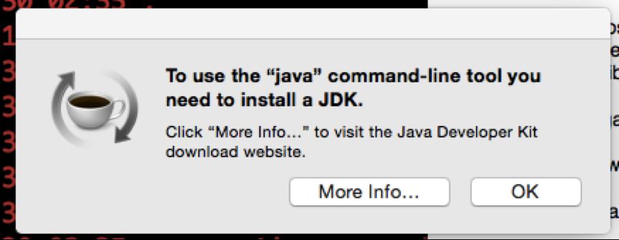 No Java