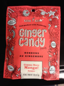 Mango Ginger Chew Candy